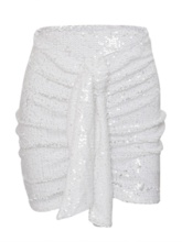 Sequins Mini Skirt Bodycon Western Women's Skirt