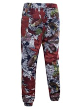 Casual Pants Print Plant Summer Men's Outfit