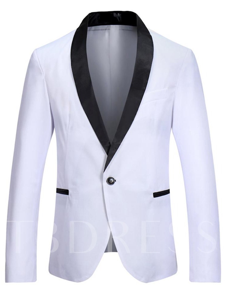 Slim One Button Casual Men's leisure Suit