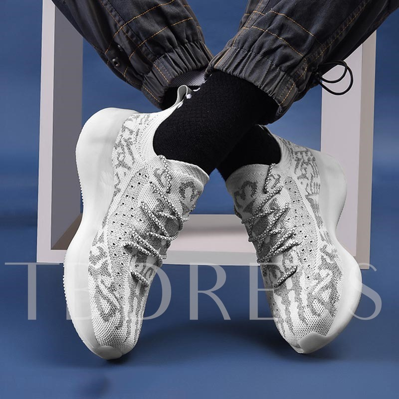 Lace-Up Round Toe Outdoor Casual Men's Sneakers