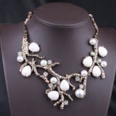 Pearl Vintage Pendant Necklace