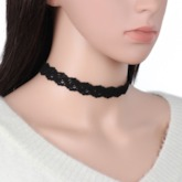 Sexy Floral Female Choker Necklace