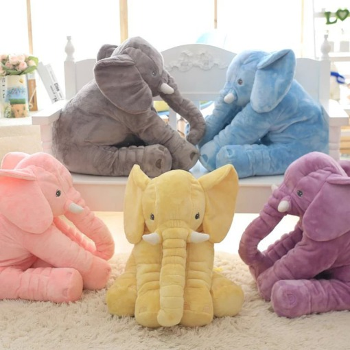Plush Nano Doll Short Floss Elephant