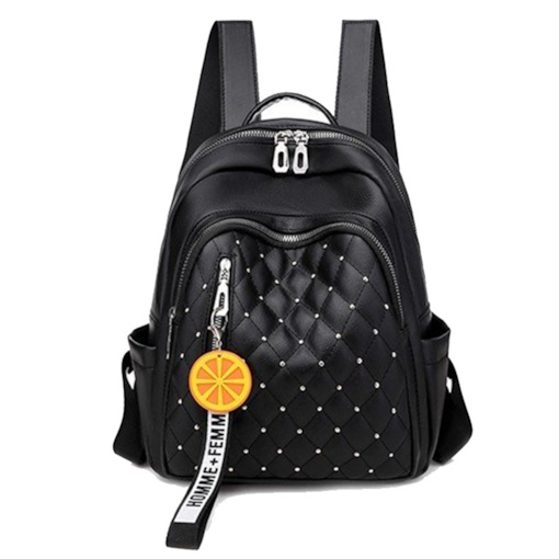 Quilted Lining PU Fashion Backpacks