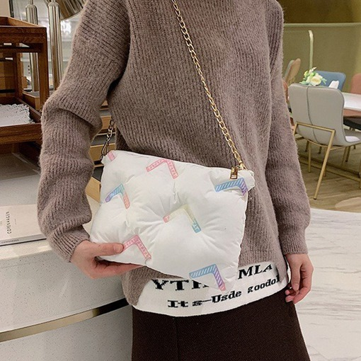Soft Print Rectangle Crossbody Bags