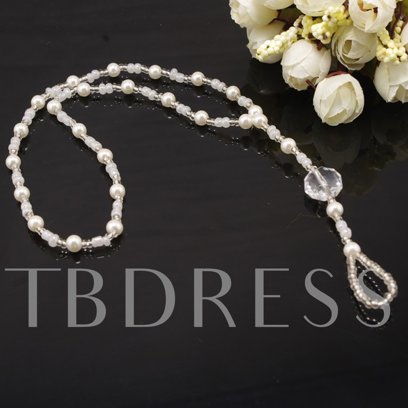 Female Sweet Pearl Anklets