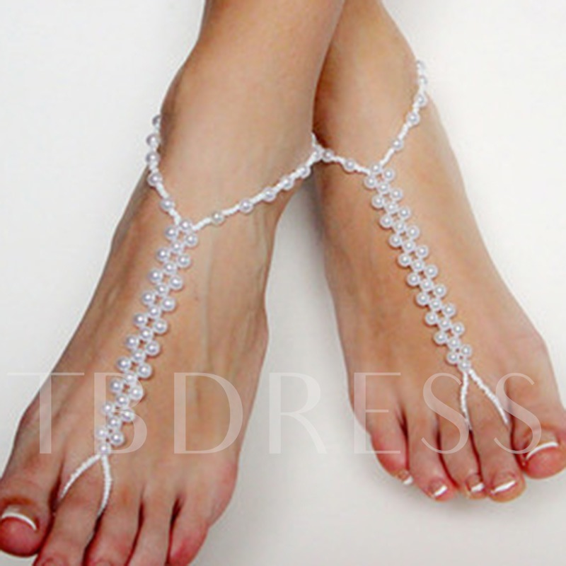 Sweet Pearl Anklets for Women
