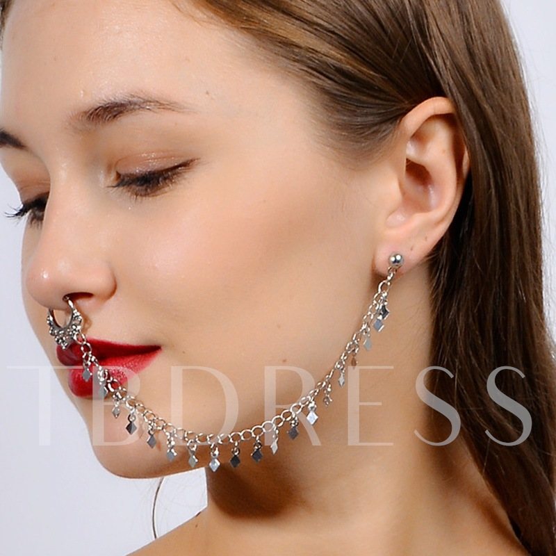 European E-Plating Alloy Nose Ring