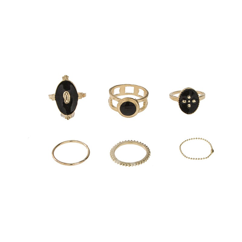 E-Plating Vintage Prom Rings Set