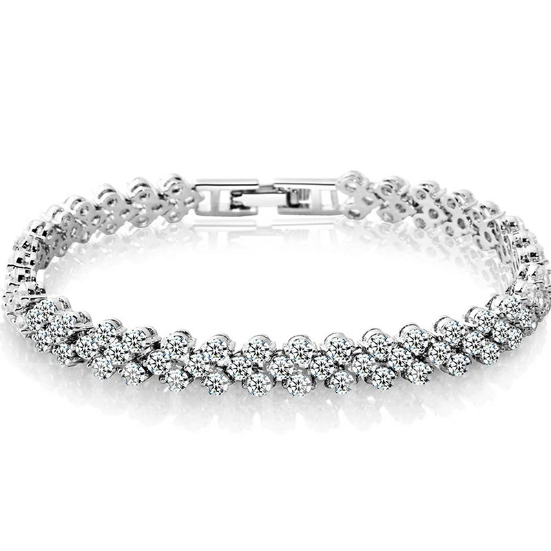 Diamante Sweet Plain Female Bracelets