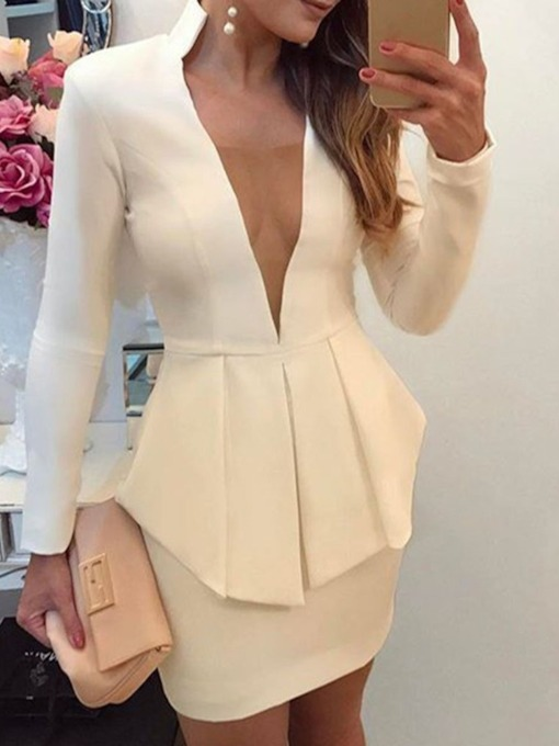 Skirt Sexy Plain Bodycon Women's Two Piece Sets