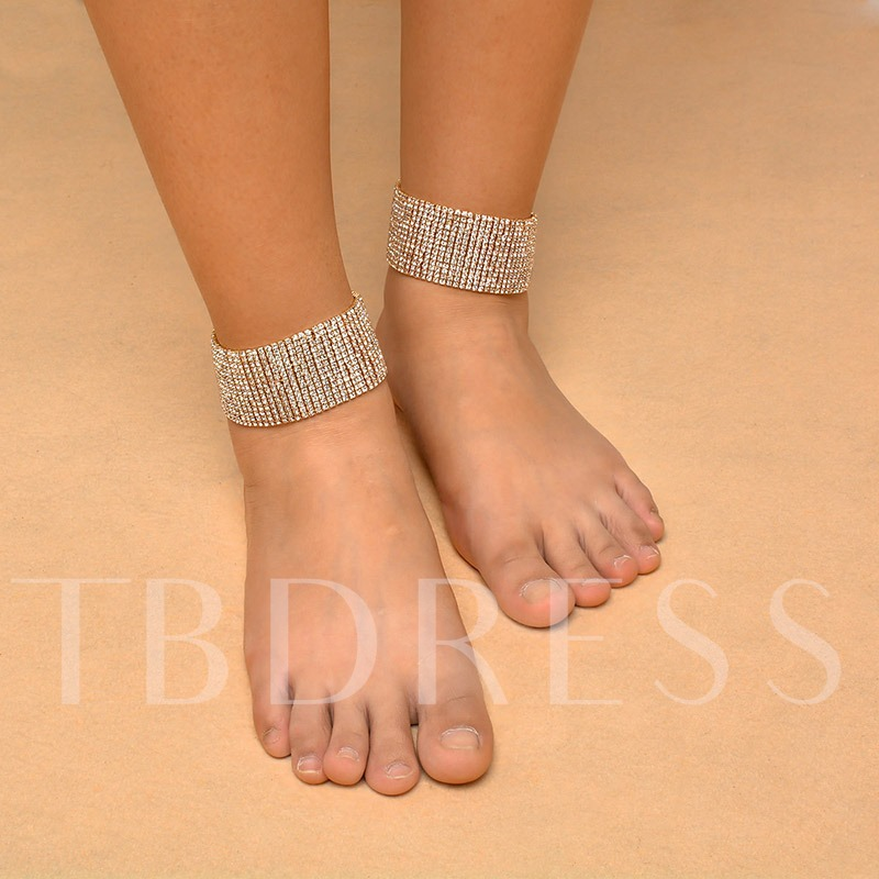 European Plain Female Anklets