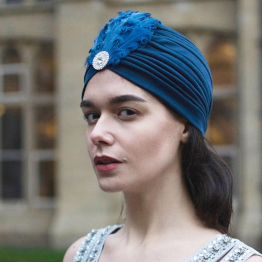 European Polyester Women's Turbans