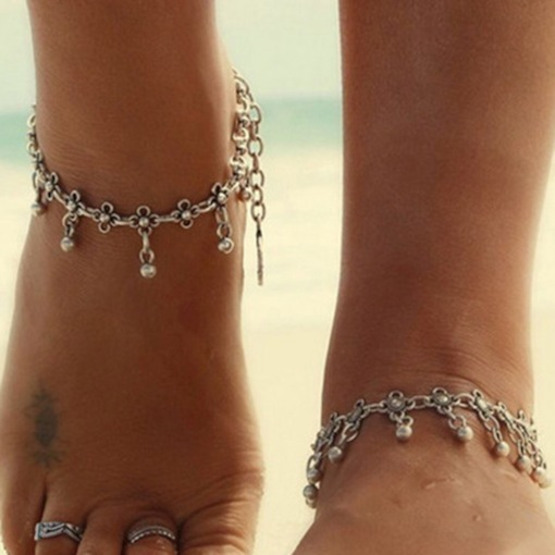 Sweet E-Plating Female Anklets