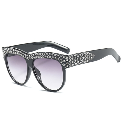 Wrap Fashion Poly Carbonate Women's Sunglasses
