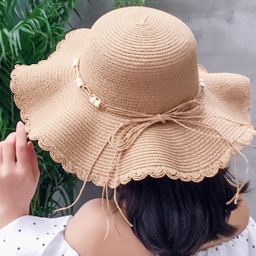Bowknot Summer Straw Hats