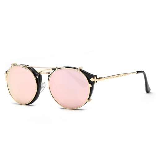 Poly Carbonate Round Vintage Sunglasses