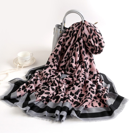 Fashion Cotton Scarf Leopard Scarves