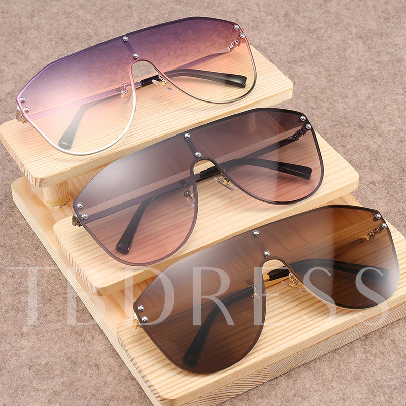 Poly Carbonate Butterfly Fashion Sunglasses