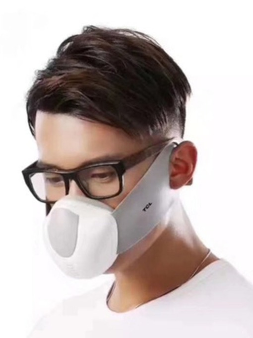 The Filter Element Of The Electric Mask Is Breathable And Anti-Haze