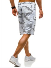 Camouflage Loose Print Harem Casual Men's Shorts