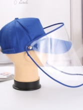 Outdoor Anti-Droplet Saliva Baseball Cap Spring And Summer Removable Sun Shade