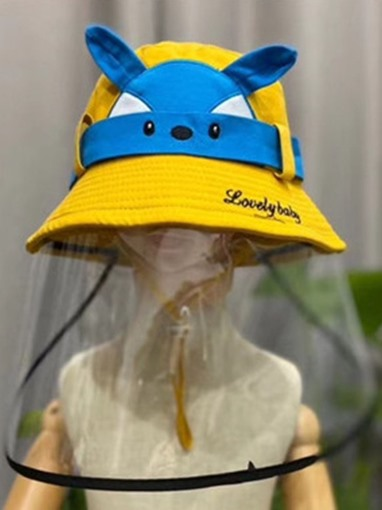 Anti-Spray Cap Mask Anti-Dust Sunscreen Fisherman Cap To Keep Out The Wind