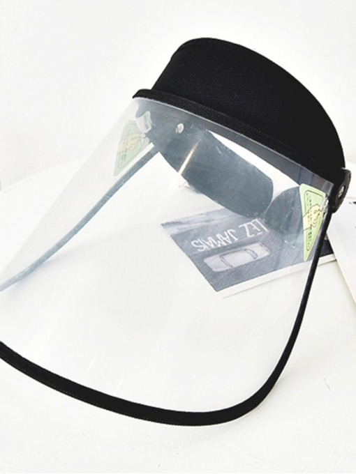 Transparent Hat Kitchen Oil-Proof Mask Men and Women Rainproof Hat Windproof Mask