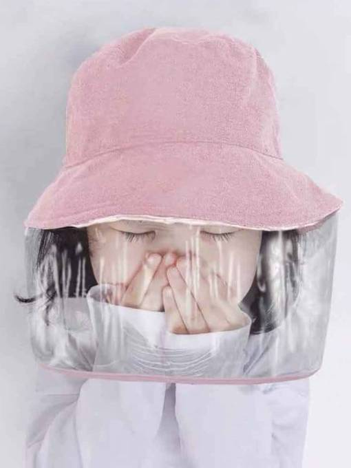 Baby Anti- Epidemic Anti - Droplet Protection Against Uv Sun Shade Fisherman Cap Men And Women