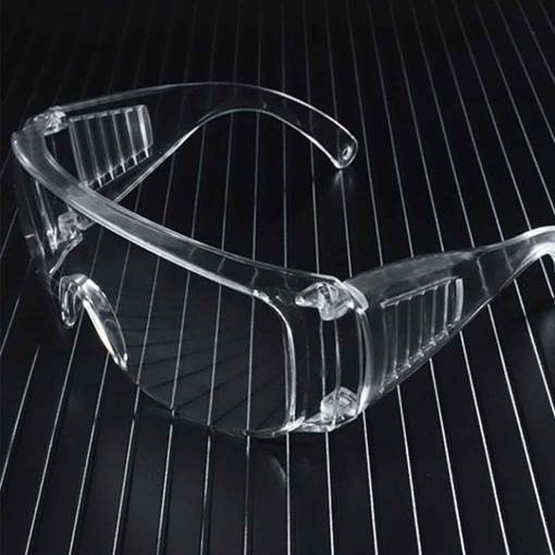 Transparent Anti-Impact Anti-Spittle Glasses