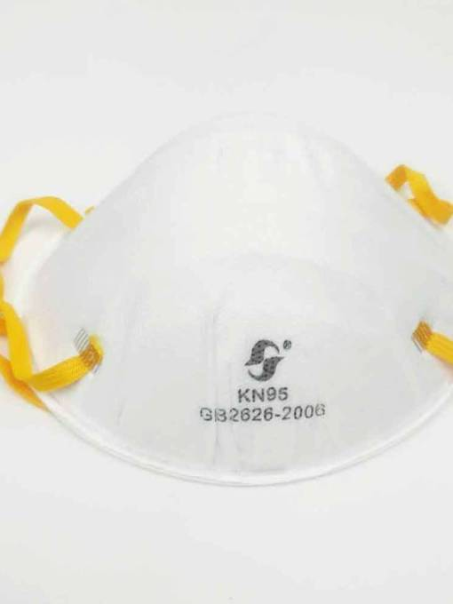 White KN95 Mask Dustproof Mouth Fliters