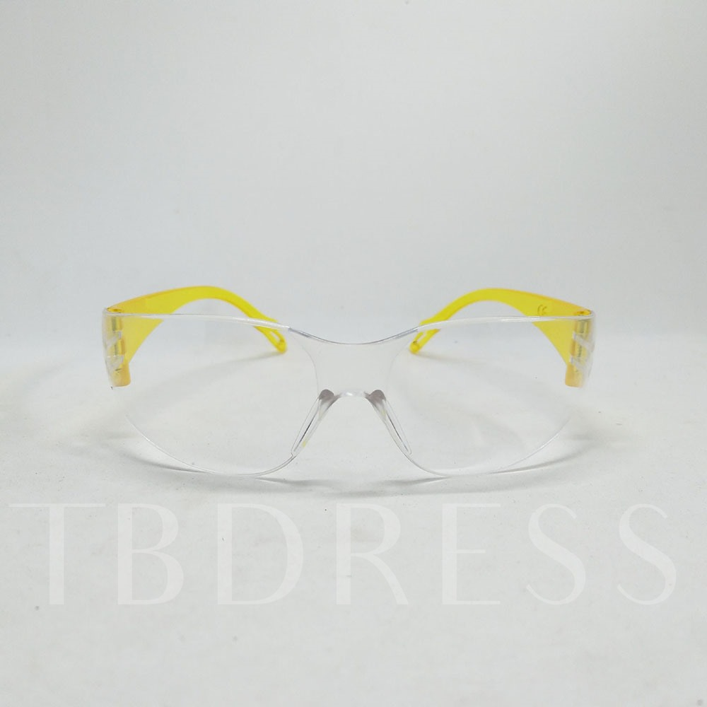 Eyeglasses Colored Foot Anti-Scratch Goggles Transparent Protective Goggles Windshield