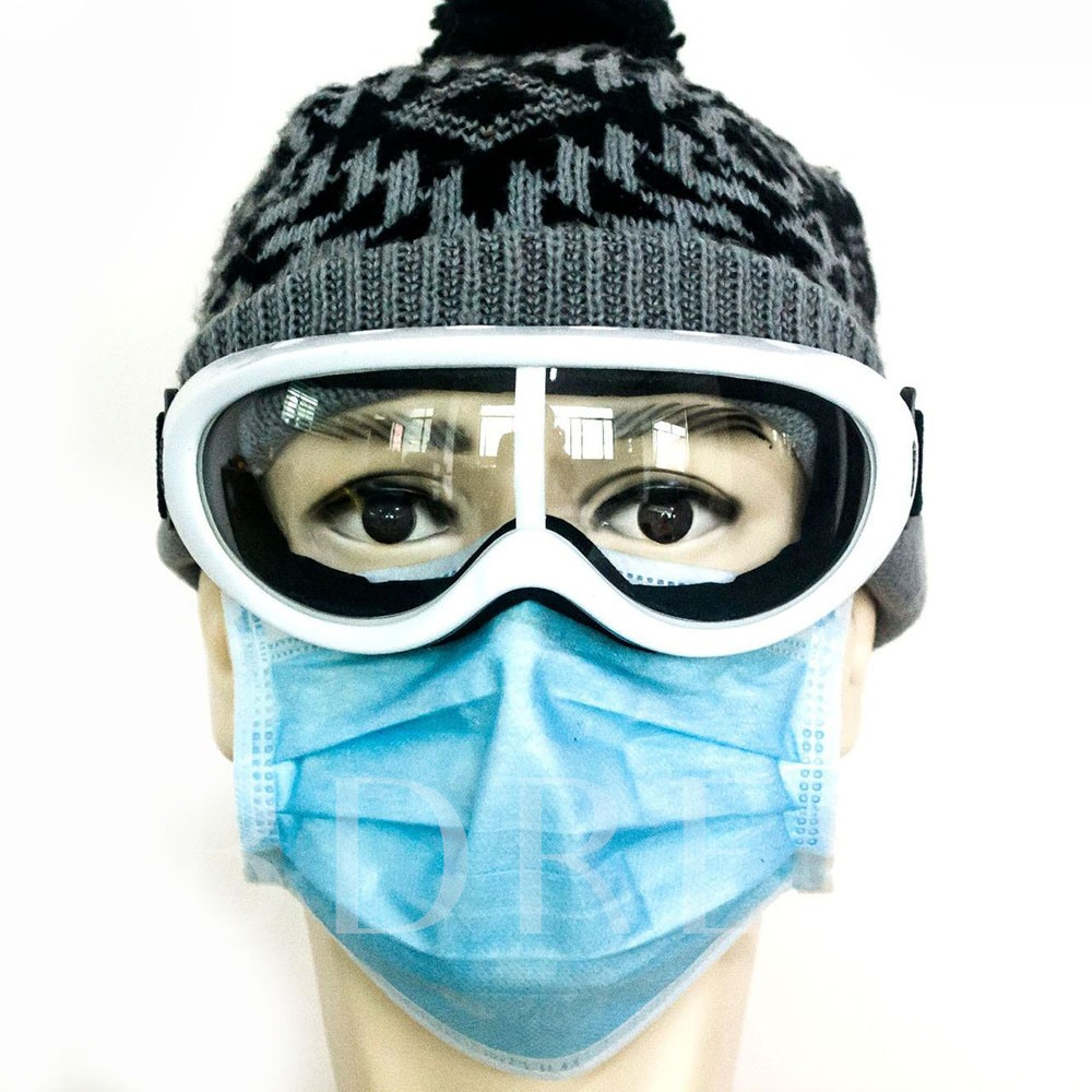 Droplet Antipollen Protective Glasses Completely Closed Safety Goggles Against Sand And Dust