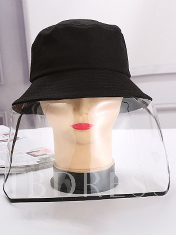 Men and Women's Outdoor Anti-Droplet Saliva Baseball Caps Removable Sun Protection Shield