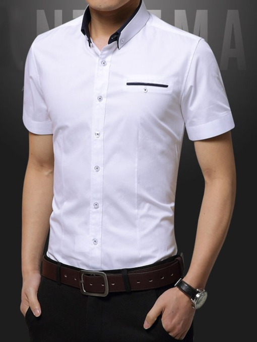 Casual Lapel Summer Men's Shirt