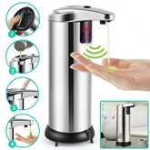 Stainless Steel Induction Soap Dispenser