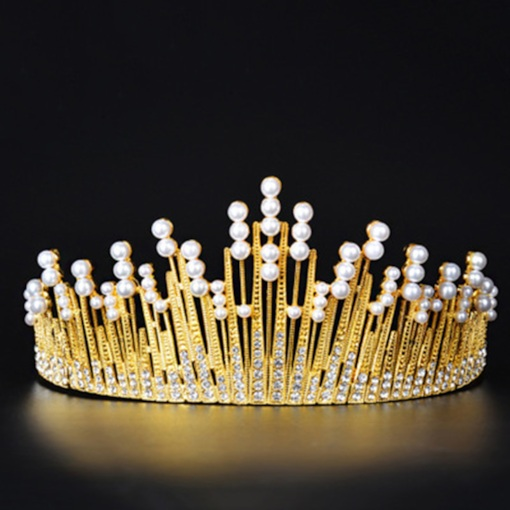 Vintage Diamante Tiara Prom Hair Accessories