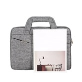Plain Polyester Office Tote Bag Laptop Bags