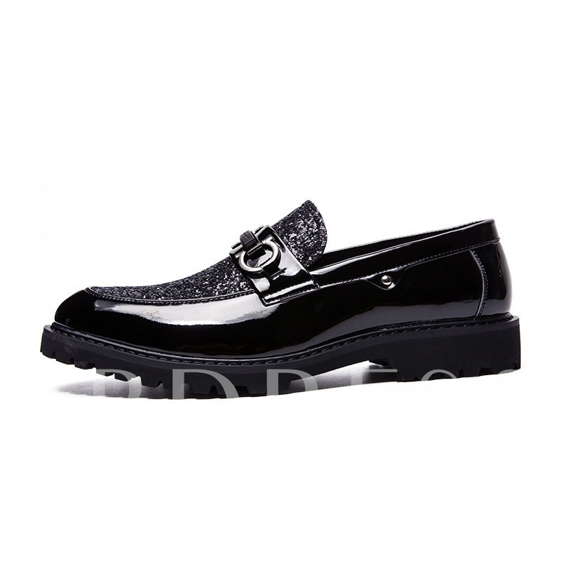Flat With Low-Cut Upper PU Leather Shoes