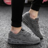 Lace-Up Low-Cut Upper Flat With Thread Sneakers