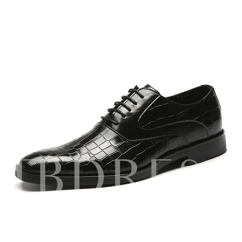 Fashion Low-Cut Upper Flat With Round Toe Leather Shoes