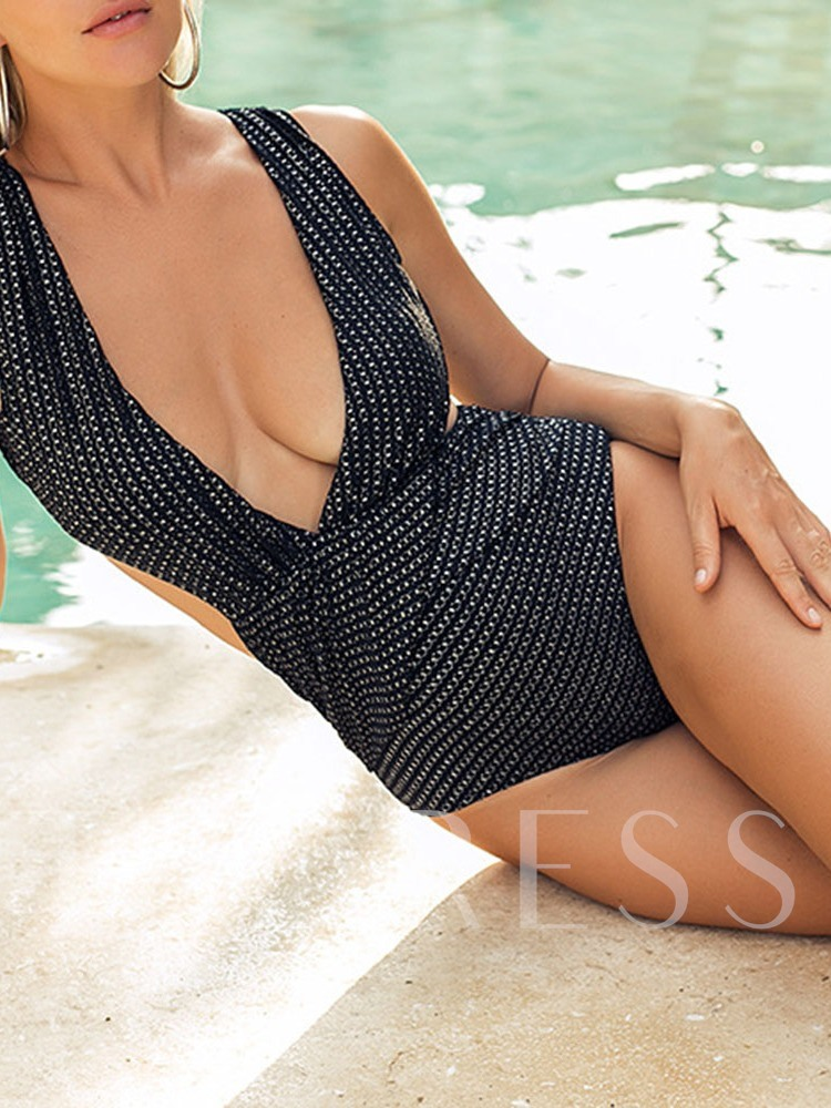 One Piece Sexy Backless Women's Swimwear