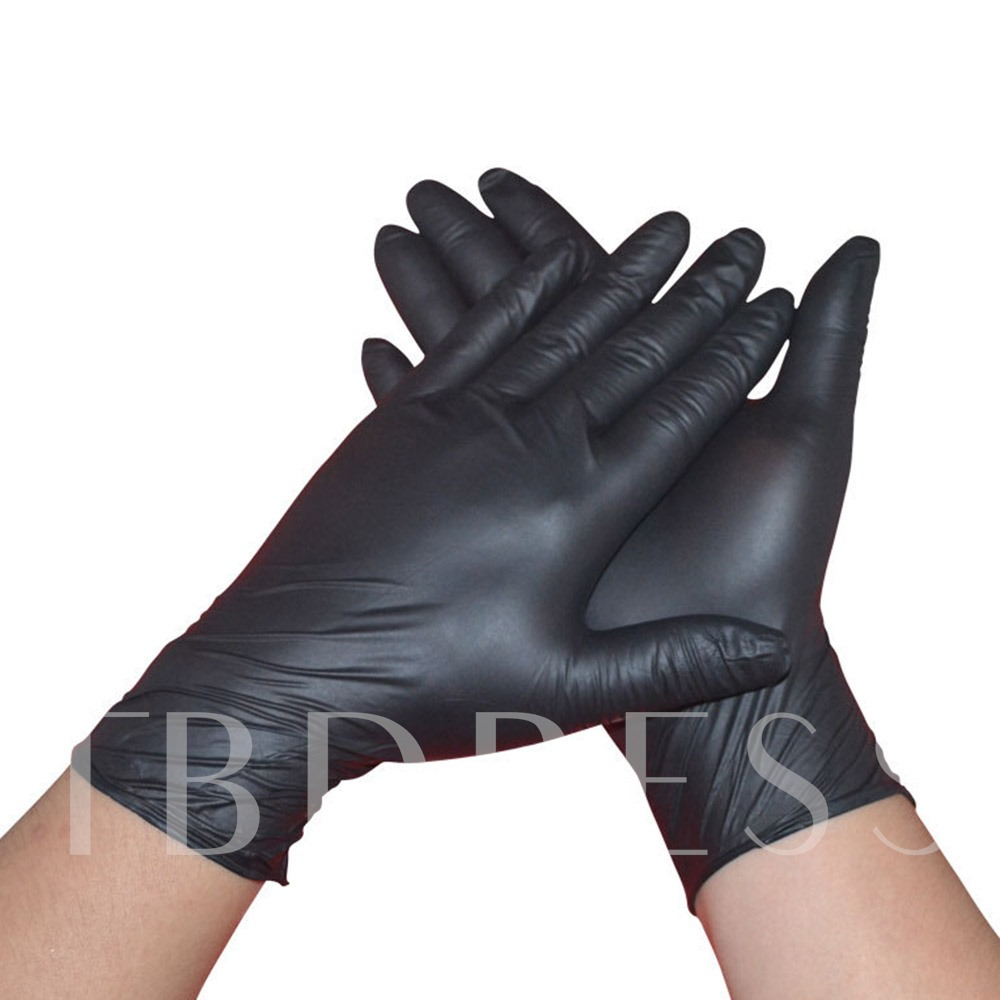 Disposable Gloves Rubber Experiment Latex Food Household Cleaning Anti-Static Gloves