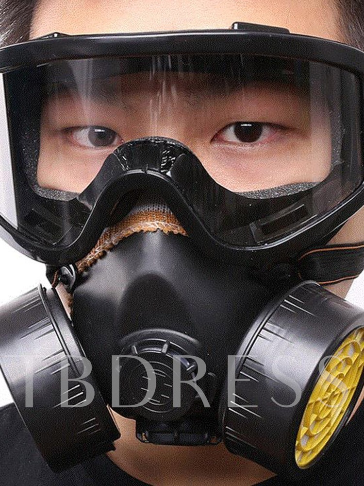 Paint Protective Glasses Double Can Mask Gas Valve Mask Decoration