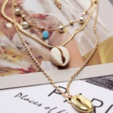 Sweet E-Plating Pendant Necklace Female Necklaces