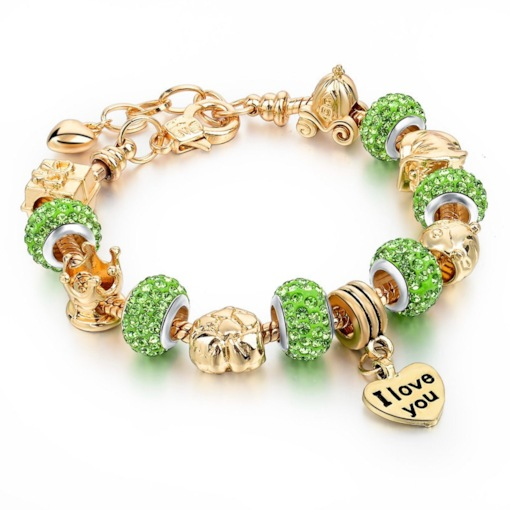 Romantic Diamante Female Bracelets