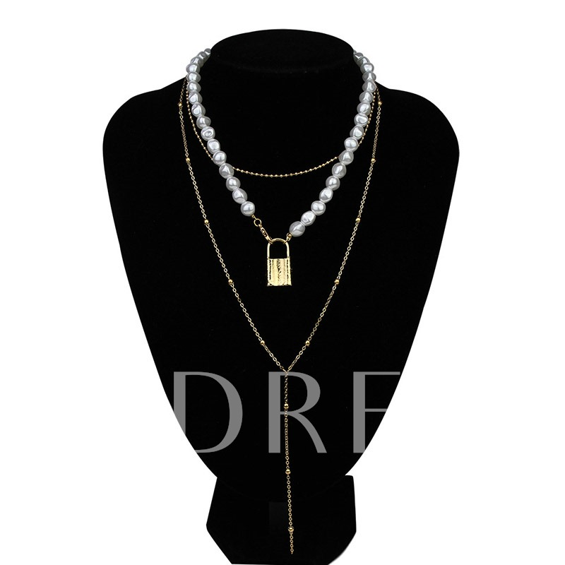 E-Plating Romantic Pendant Necklace Female Necklaces