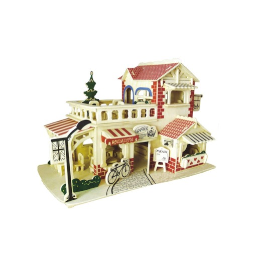 Architecture Wooden Universal Three-Dimensional Puzzle