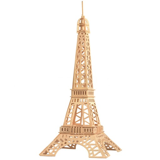 Wooden Architecture Solid Universal Three-Dimensional Puzzle