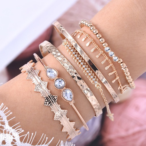 Fashion Sweet Diamante Female Bracelets